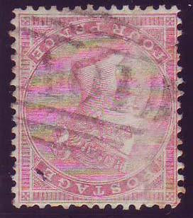 73030 - GB USED IN JAMAICA. A used 4d carmine (SG66), slig...