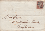 73508 - 1843 LIVERPOOL MALTESE CROSS /PL.28(SG8)(AH). 1843 ...