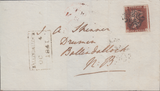73722 - 1841 NEWCASTLE ON TYNE MALTESE CROSS/Pl. 16(NE)(SG8). Wrapper