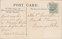74273 - ISLE OF WIGHT. 1905 post card of The Chine Shankli...
