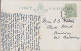 74274 - ISLE OF WIGHT. 1908 post card of The Chine Shankli...