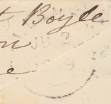 74403 - Pl.89 (PH)(SG8) ON COVER. 1849 envelope London to Callingto...