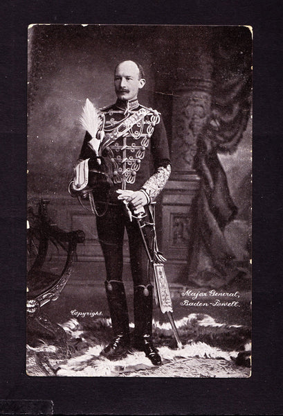 74551 - Postcard Major General Baden-Powell. Fine used Rot...