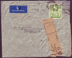 74711 - 1945 envelope Manchester to Canada with KGVI 2/6d ...