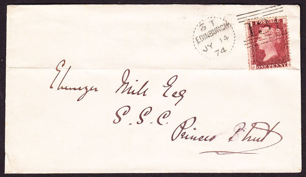 76155 - EDINBURGH DOTTED CIRCLE TYPE A10 (RA10)/Pl.120(SG43)(JJ). Enve...