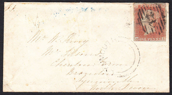 76679 - PL.167(OI)(SG8) ON COVER. 1853 envelope London to L...