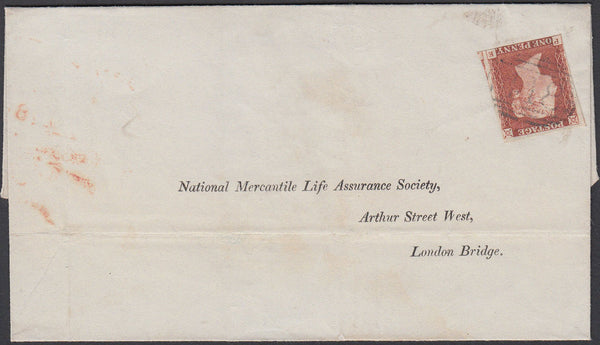 76707 - DEVON. 1846 envelope Kingsbridge to London with th...