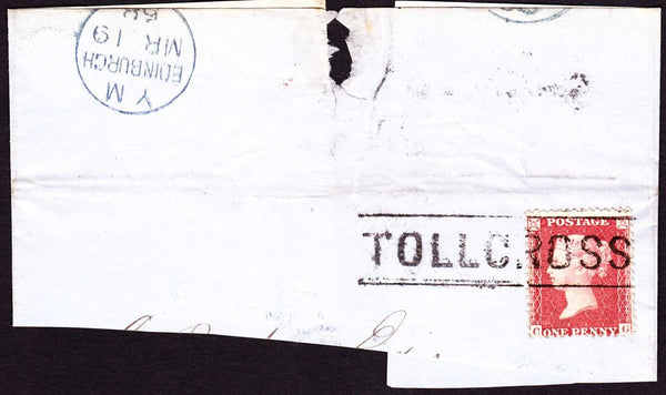 76950 - 'TOLLCROSS' TYPE III SCOTS LOCAL (CO.LANARK). Smal...