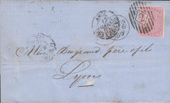 78494 - 1859 CHARLES RIDEOUT EXPERIMENTAL MACHINE CANCELLATION ...