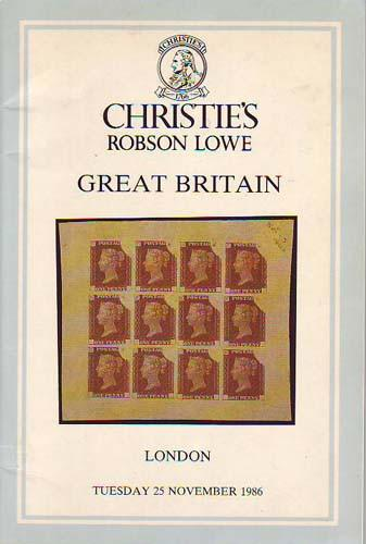 78593 - SPECIALISED GREAT BRITAIN AUCTION 25th November 19...