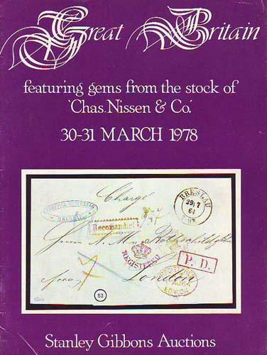 78610 - GREAT BRITAIN - AUCTION MARCH 1978 - GEMS FROM THE...