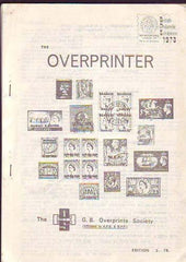 78613 - THE OVERPRINTER by The Great Britain Overprint Soc...