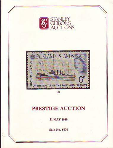 78615 - PRESTIGE AUCTION 31 MAY 1989 by Stanley Gibbons. A...