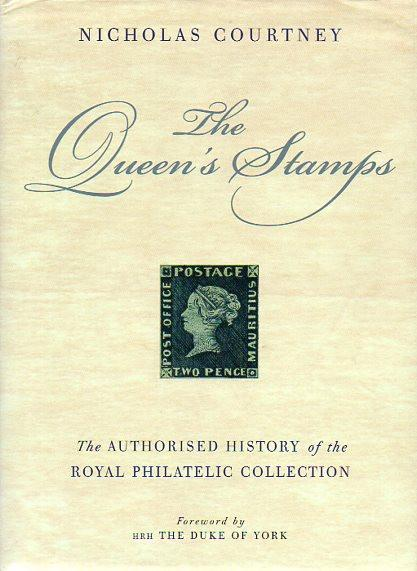 78680 - 'THE QUEEN'S STAMPS' by Nicholas Courtney,