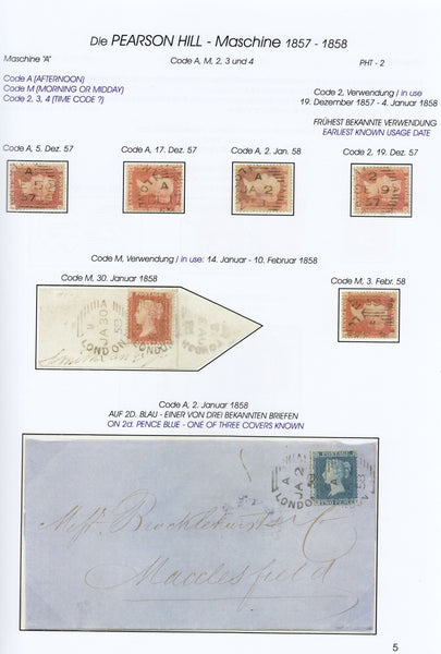 78702 - THE EARLY and EXPERIMENTAL MACHINE POSTMARKS OF ENGL...