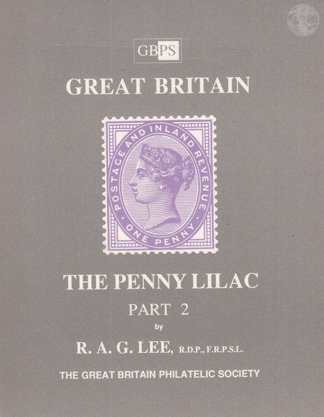 78722 - GREAT BRITAIN - THE PENNY LILAC, PART 2, RAG Lee. ...