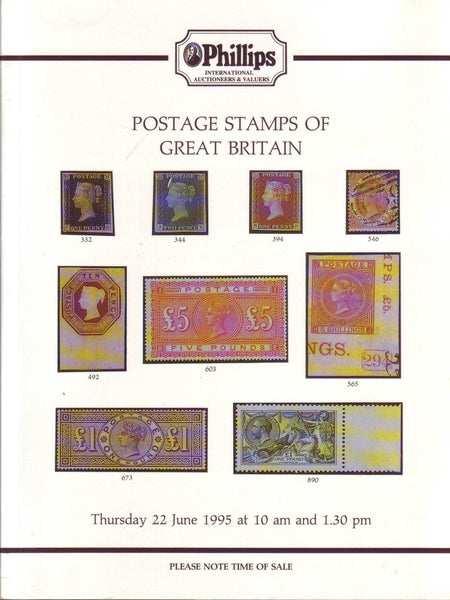 78880 - POSTAGE STAMPS OF GREAT BRITAIN: Phillips Auction ...