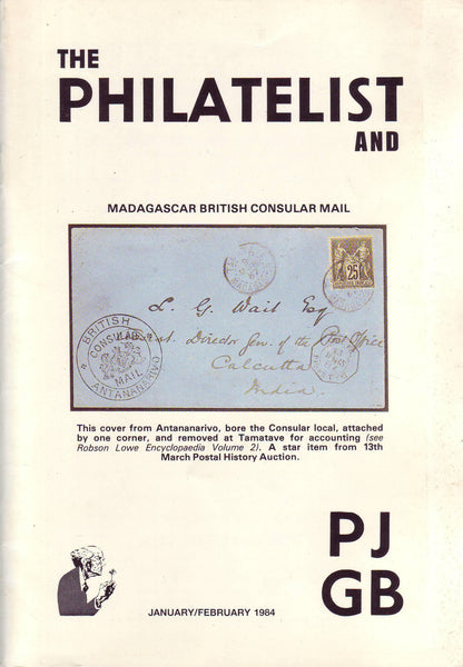 78969 - THE PHILATELIST and PJGB JAN-FEB 1984. Including Cze...