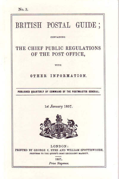 79006 - BRITISH POSTAL GUIDE: CONTAINING THE CHIEF PUBLIC ...