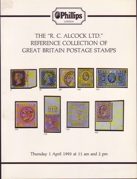 "79224 - THE ""R.C. ALCOCK LTD"" REFERENCE COLLECTION OF GREA..."