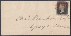 79748 - 1840 letter used locally in London with fine four ...