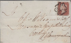80089 - 1D PL.34 (SG8)(GH) ON COVER. Letter L...