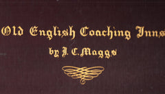 "80517 - ""OLD ENGLISH COACHING INNS BY I.C.MOGGS"" FROM THE ..."