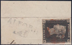 80529 - 1D BLACK PL.7(FB)(SG2)/LINCS. A fine used four mar...