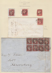 80718 - EASTBOURNE (SUSSEX) POSTAL HISTORY/CANCELLATIONS. ...