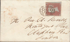 80762 - UCKFIELD (SUSSEX) CANCELLATIONS. Collection 1849-1...