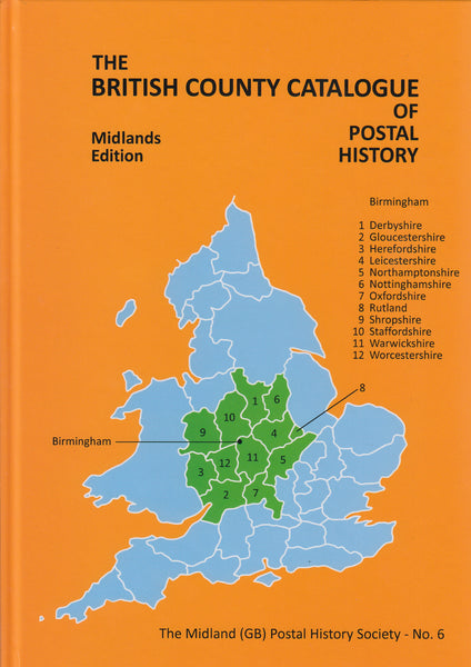 81805 - THE BRITISH COUNTY CATALOGUE OF POSTAL HISTORY - M...