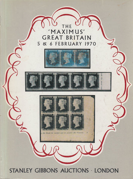 "81883 - THE ""MAXIMUS"" GREAT BRITAIN AUCTION CATALOGUE. A f..."