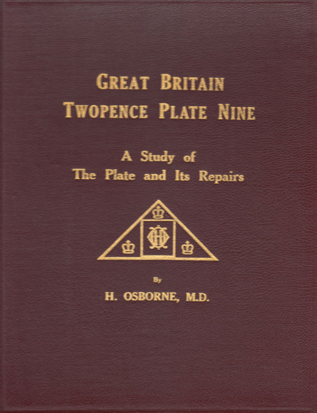 82723 - GREAT BRITAIN TWOPENCE PLATE 9 by H Osborne, 1939....