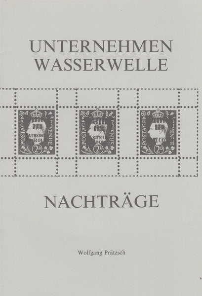 82724 - GERMAN PROPAGANDA FORGERIES OF BRITISH STAMPS/LITE...