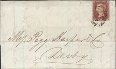 82737 - PL.66(SG8)(DE) ON MAIL LIVERPOOL TO DERBY/ FINE PRINTED BILL HEAD. Fine letter Liverpool