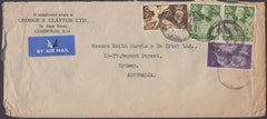 83064 - 1948 large envelope (228x102mm) London to Sydney A...