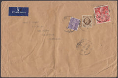 83089 - 1948 large envelope (230x152mm) London to Melbourn...
