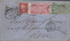 83488 - LIVERPOOL SPOON TYPE A13 RECUT (RA50). 1857 envelo...