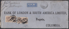 83773 - 1931 MAIL TO COLOMBIA. Envelope (266x112mm) London...