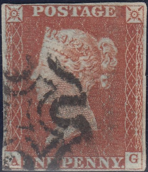 83970 - 1843 PL.41(AG)(SG8) MATCHED PAIR WITH MALTESE CRO...