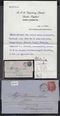 84023 - PL.65 (IL)(SG40) USED ON COVER. 1861 entire London...