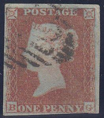 84368 - PL.141 (BG)(SG8). Good used pl.141 lettered BG wit...