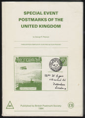 84799 - 'SPECIAL EVENT POSTMARKS OF THE UNITED KINGDOM' by G...