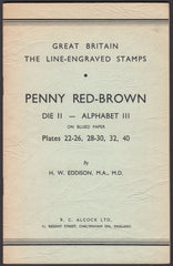 84819 - GREAT BRITIAN: THE LINE ENGRAVED STAMPS: PENNY RED...
