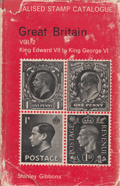 84853 - STANLEY GIBBONS GREAT BRITAIN SPECIALISED STAMP CA...
