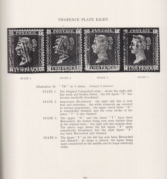 84939 - BRITISH LINE ENGRAVED STAMPS: TWOPENCE BLUE STUDIE...