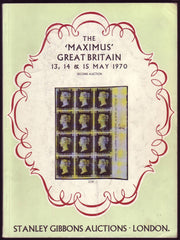 "84997 - THE ""MAXIMUS"" GREAT BRITAIN AUCTION CATALOGUES - S..."