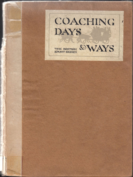 85017 - COACHING DAYS and WAYS by E D Cuming. A good copy (s...