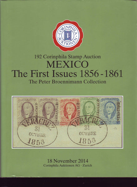 85047 - MEXICO. Superb auction catalogue Corinphila Novemb...