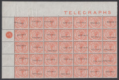 85504 - 1880 ½d TELEGRAPH (L201) A superb unmounted og upp...